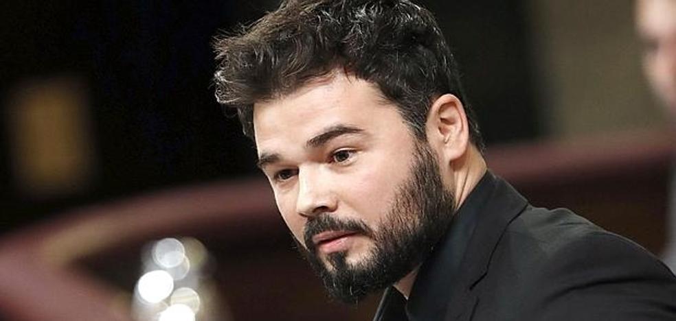 """Vuelve la polémica por un vídeo de Rufián critiando """"las becas a sus primos de Jaén"""""""