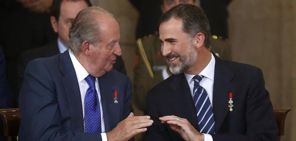Representantes políticos elogian el papel de Don Juan Carlos en su 80 cumpleaños