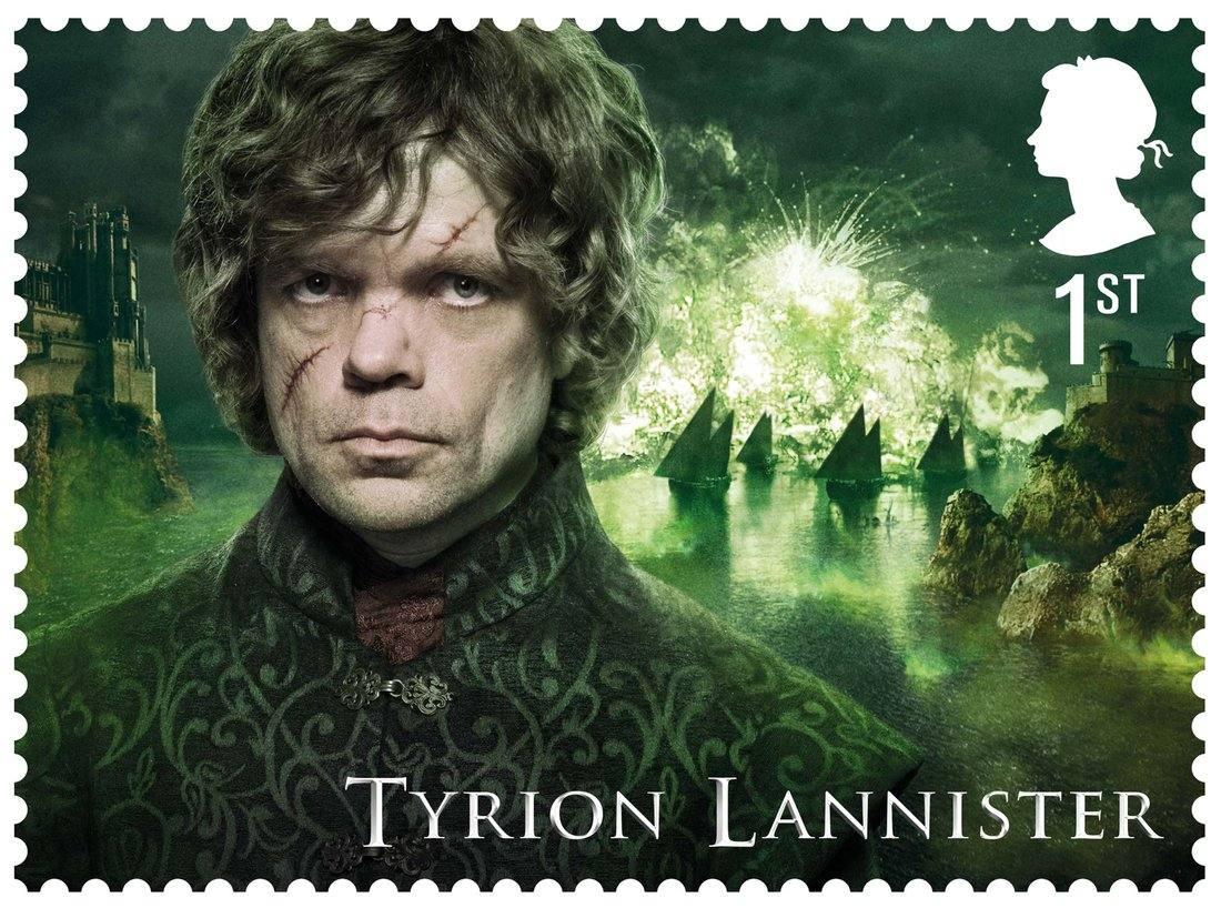 La colección de sellos de 'Juego de Tronos'