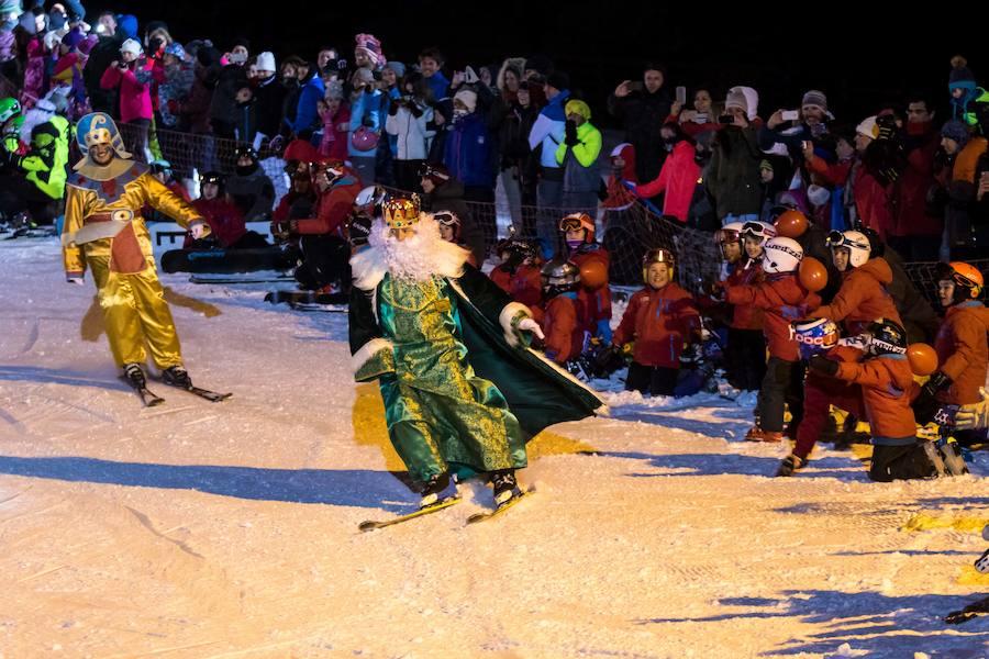Los Reyes Magos llegarán esquiando a Sierra Nevada