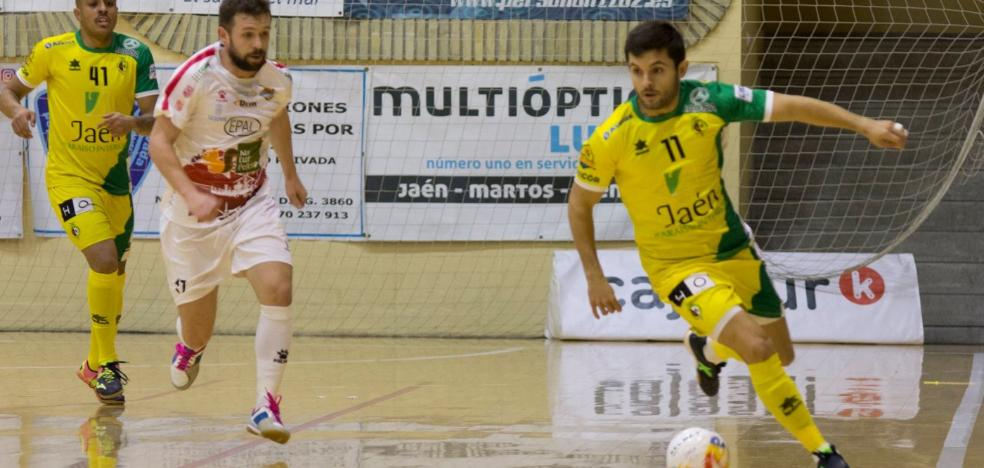 El Jaén FS estrena el año en casa y recibiendo al Naturpellet Segovia