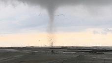 Un tornado provoca numerosos destrozos en El Ejido