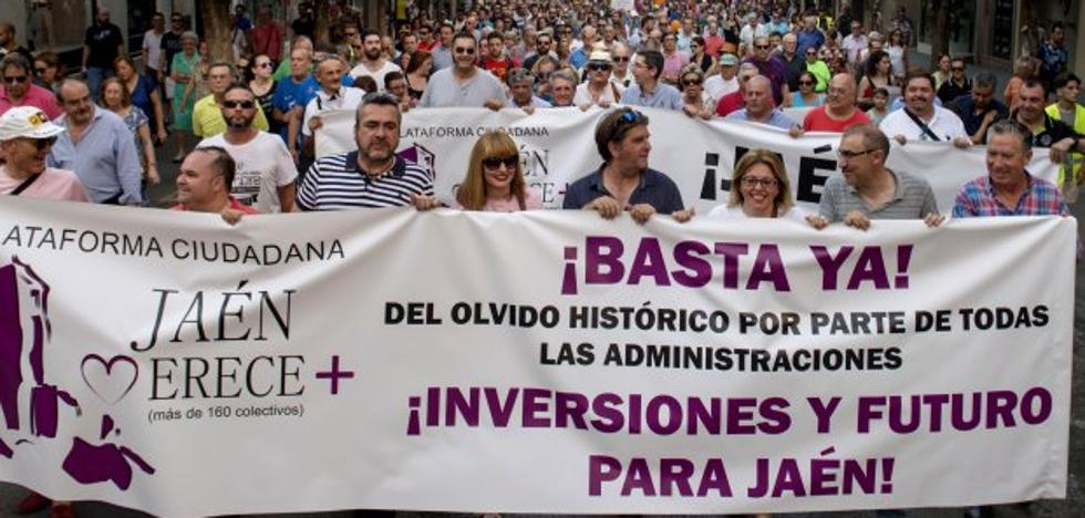 'Jaén Merece Más' anuncia una reunión con líderes políticos andaluces el 23 de enero