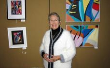 Barbara Price expone su obra en el Centro de Interpretación de Alhama