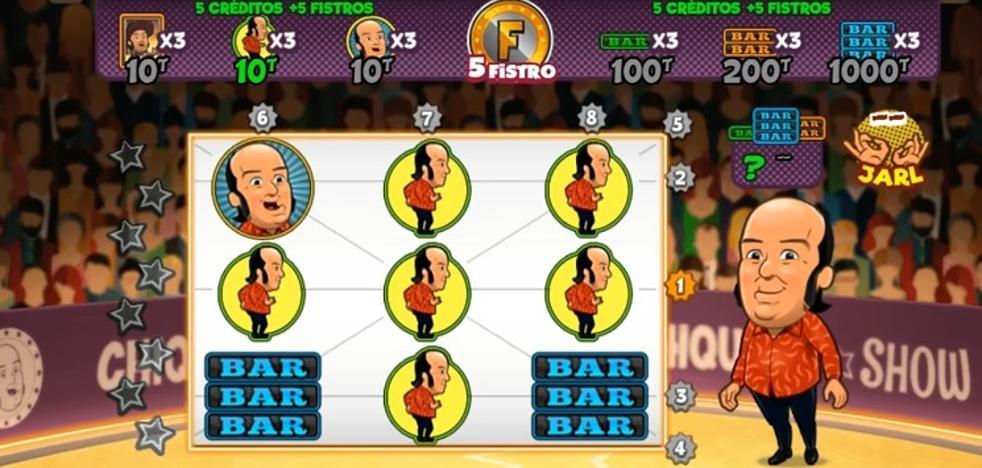 El genial videojuego de tragaperras de Chiquito que está arrasando