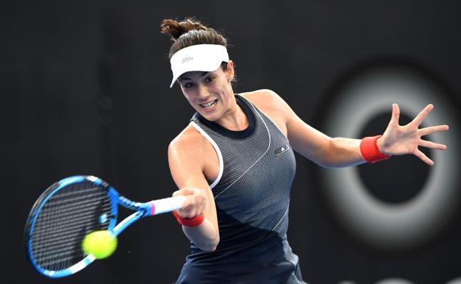 Garbiñe Murguruza cae al tercer puesto en el ránking WTA