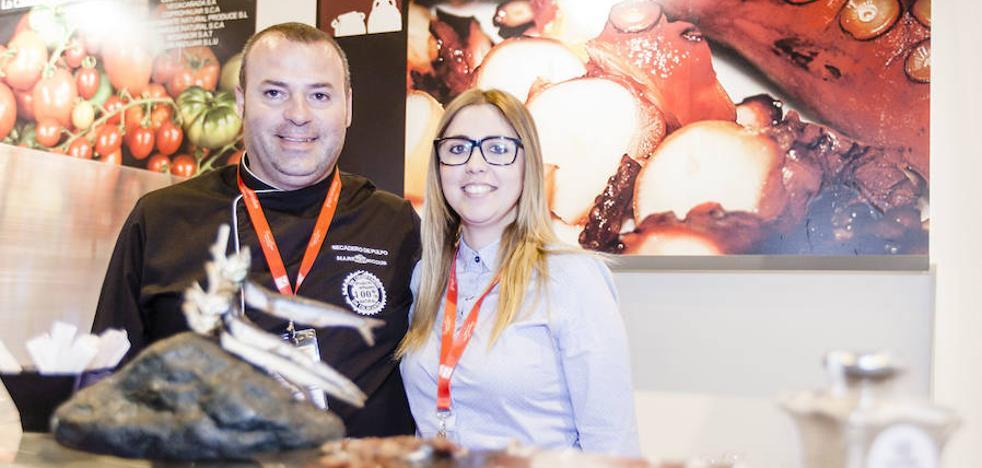 El pulpo en polvo de Adra gana el premio 'Excelencias Gourmet 2017'