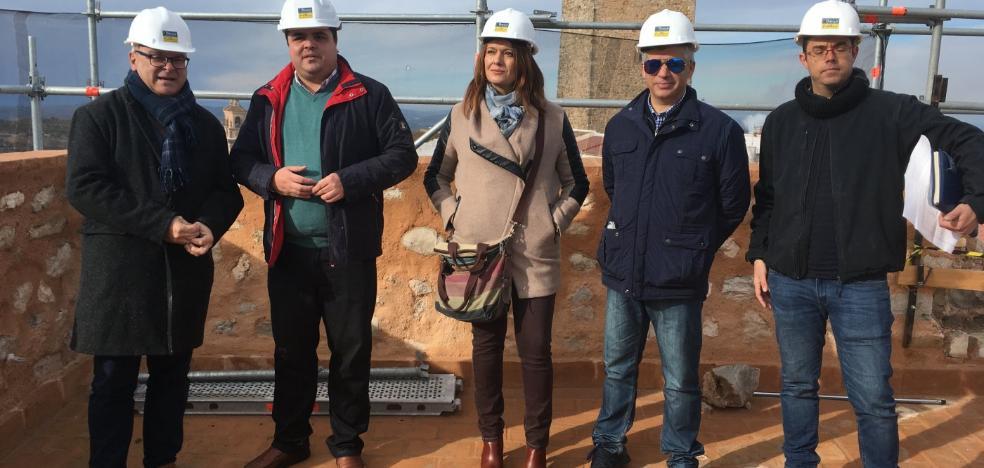 Martos rehabilita la Torre Almedina de su Castillo de la Villa