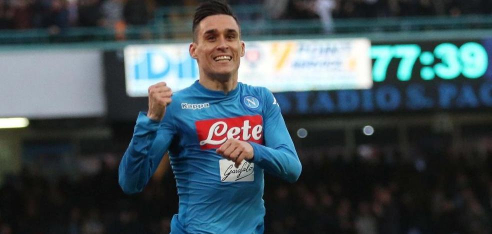 José Callejón hace historia en la Serie A