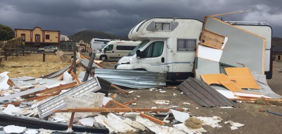 Los estudios Fort Bravo, víctima de otro tornado