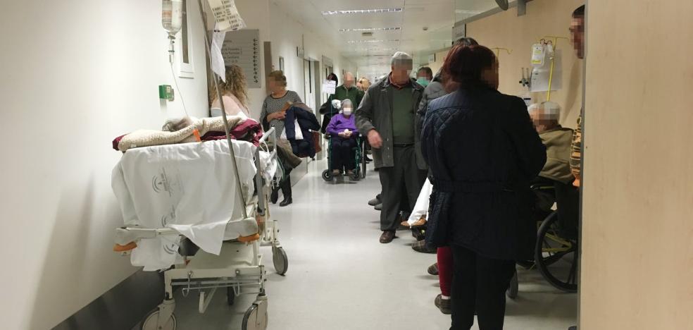 Doce horas a la espera de cama en Ruiz de Alda para una cirugía