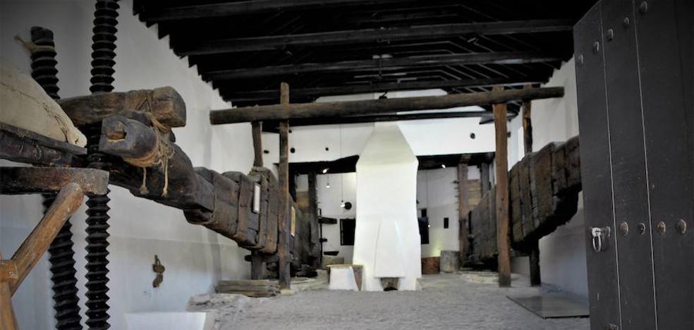 La almazara de Nigüelas se convierte en uno de los principales atractivos turísticos del Valle de Lecrín