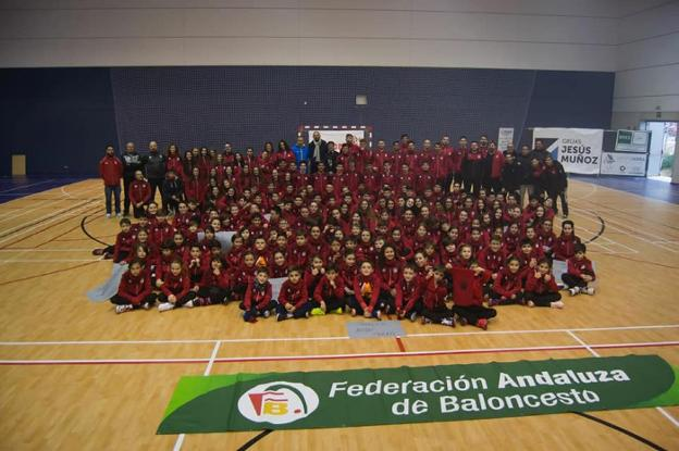 Integrantes del Club Baloncesto Jaén./CB JAÉN
