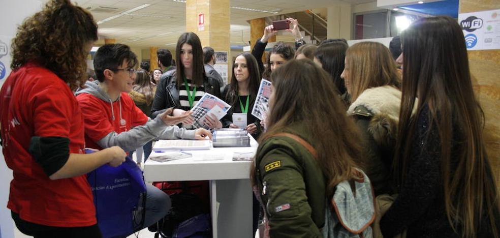 5.900 estudiantes de 71 IES de la provincia visitarán la UJA en 'Los encuentros con la UJA'