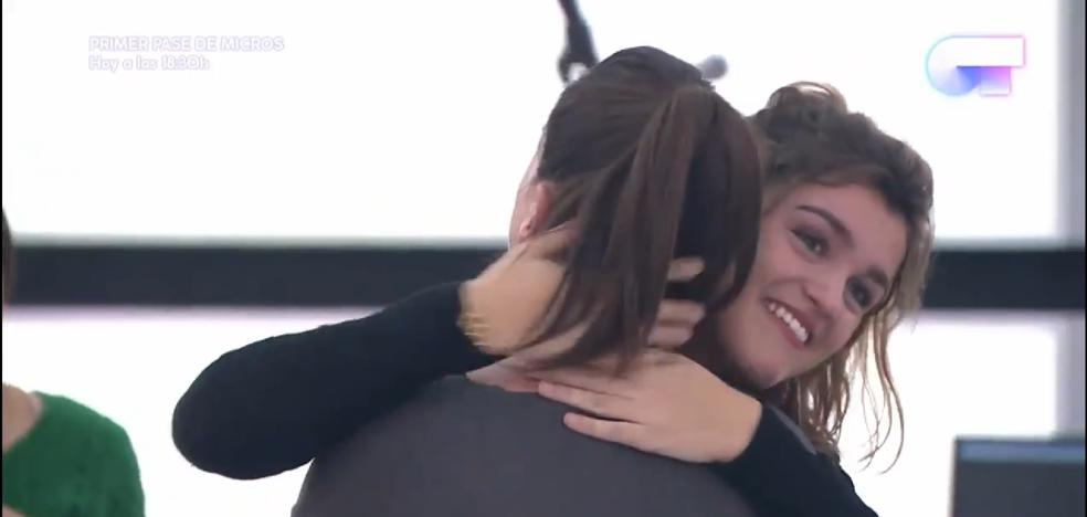 """El emotivo reencuentro que ha protagonizado Amaia """"de España"""" en 'OT'"""