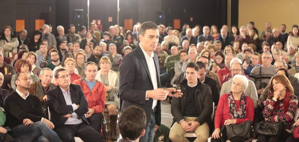 """Sánchez considera que la legislatura """"está agotada"""" por la ausencia de """"un proyecto político del PP"""""""