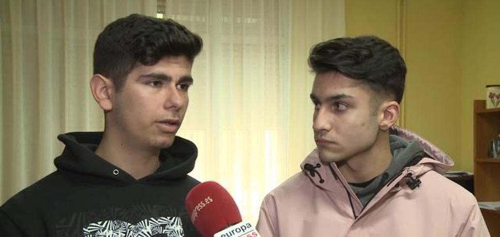 Los dos chicos que salvaron la vida de su compañero en plena clase de matemáticas