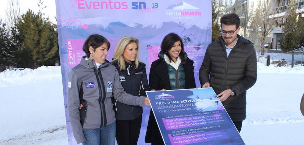 El calendario deportivo invernal de Sierra Nevada incluye seis campeonatos de España