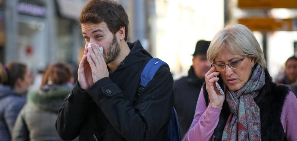 La incidencia de la gripe supera la de 2017 sin haber alcanzado aún el pico