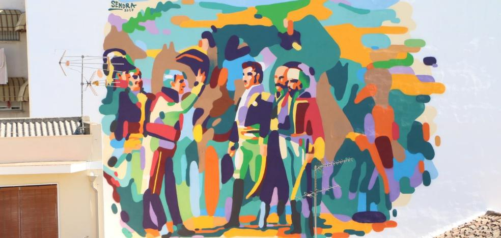 'Murales conciencia' sigue decorando con historia y ecología las calles de Bailén