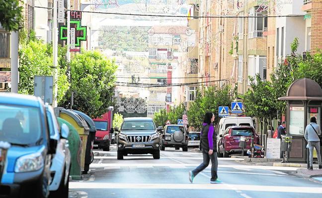 Una de las principales calles de Motril perderá la mitad de sus aparcamientos por una reforma