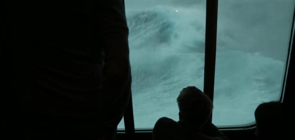 El crucero fatal: 3 días de brutal tormenta volviendo de las Bahamas
