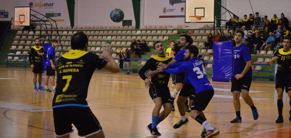 El CBM Bahía de Almería recibe en el derbi al BM Ciudad de Dalías