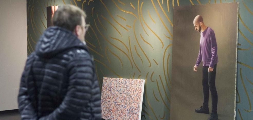 Unicaja expone 'Vi como sucedía pero no hice nada', una reflexión sobre la pintura