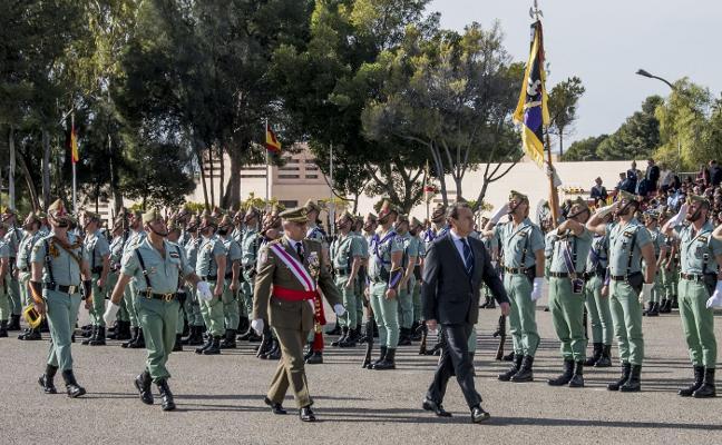 Unos 600 almerienses juran bandera en el acto de recuerdo del combate de Edchera