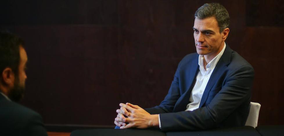 Cinco preguntas a Pedro Sánchez
