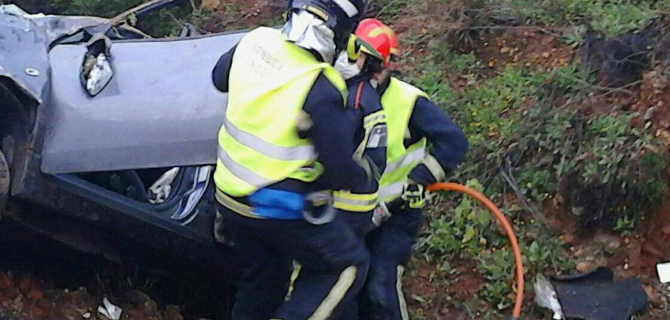 Muere un hombre en un accidente de tráfico en la autovía A-4