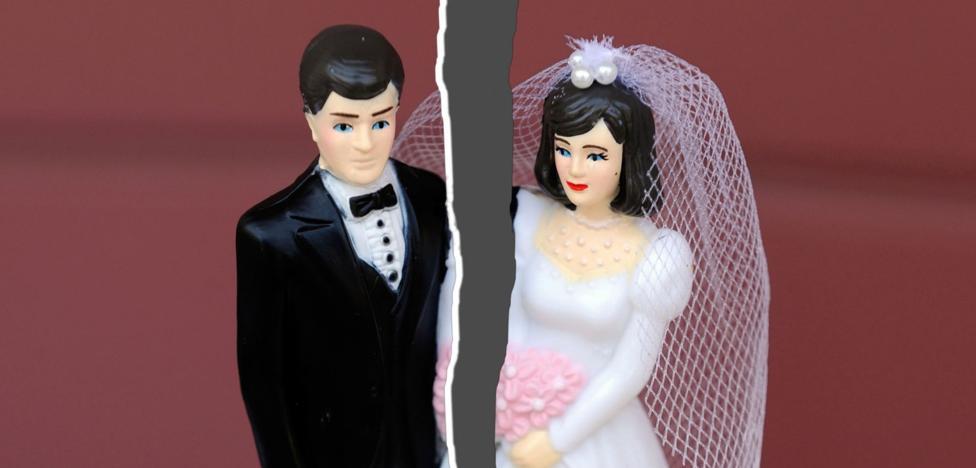 Jaén es la provincia andaluza donde menos divorcios se producen