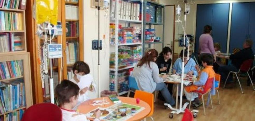 Más alumnos en el hospital