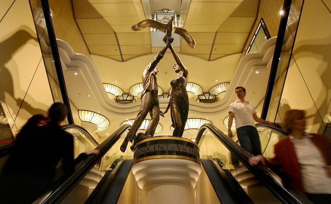 Adiós a la mítica y famosa estatua de Lady Di