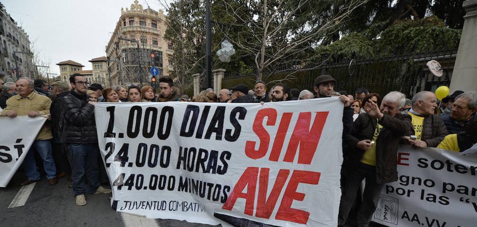 """La Junta ve """"con absoluto fundamento"""" las quejas en Granada por el aislamiento ferroviario"""