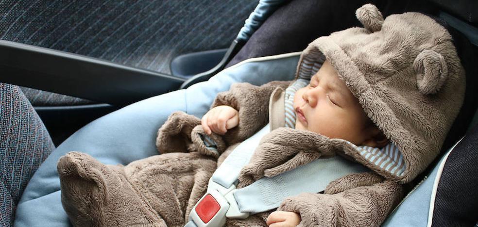 5 consejos para que tu bebé vaya seguro en el coche