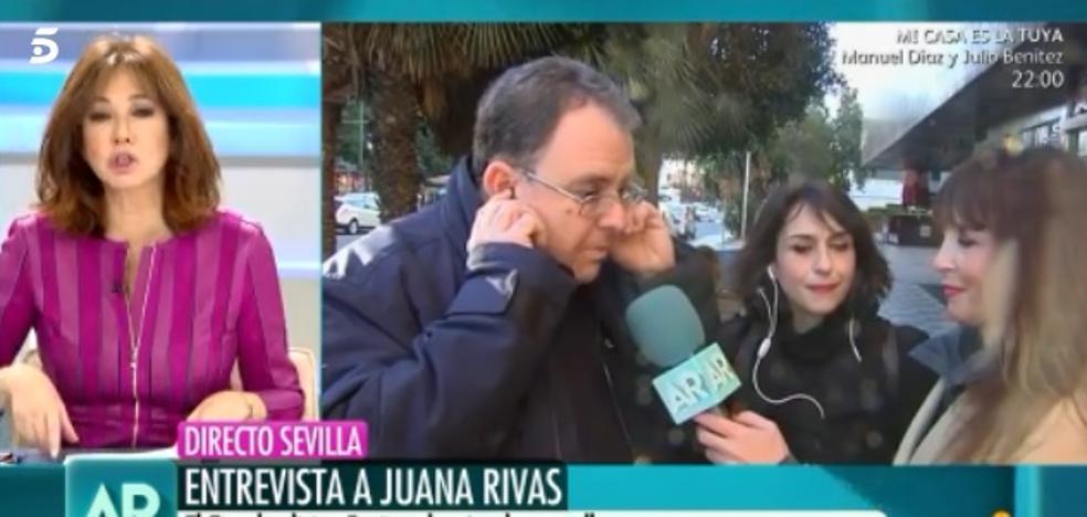 """Encontronazo del abogado de Juana Rivas con Ana Rosa Quintana: """"Primero hablo en Antena 3"""""""