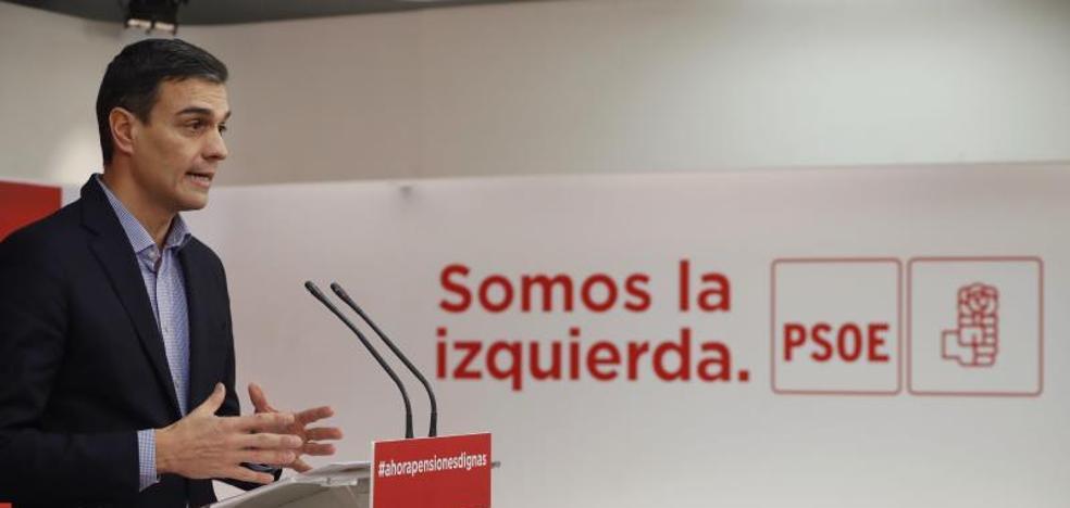Sánchez pide aglutinar el voto de la izquierda en el Psoe
