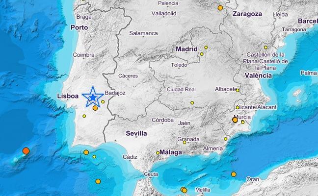 """Un terremoto """"muy fuerte"""" en Portugal se siente en Andalucía y Extremadura"""