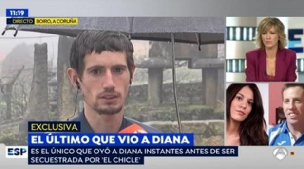 """El testigo que vio a 'El Chicle' raptar a Diana Quer: """"Le dijo 'déjame en paz'"""""""
