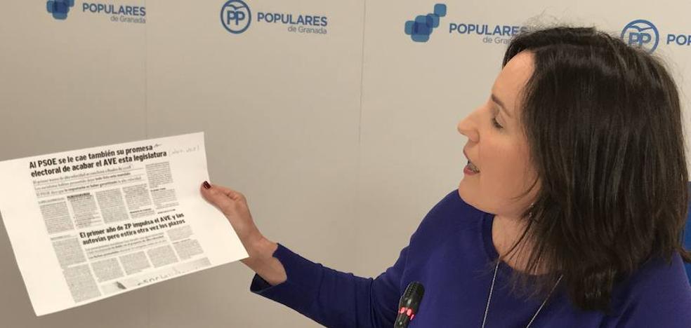"""El PP afea al alcalde que, """"ante su falta de gestión"""", quiera hacer del AVE """"su campaña electoral"""""""