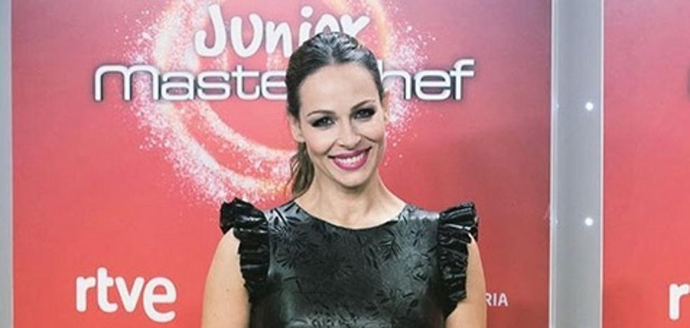 Así lidia una embarazadísima Eva González ante las adversidades en 'MasterChef'