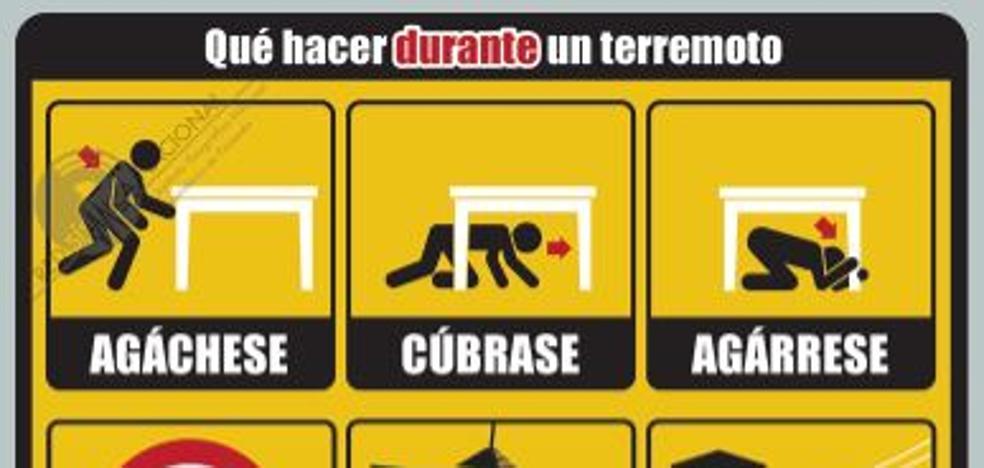 ¿Qué tienes que hacer si hay un terremoto? Pasos a seguir