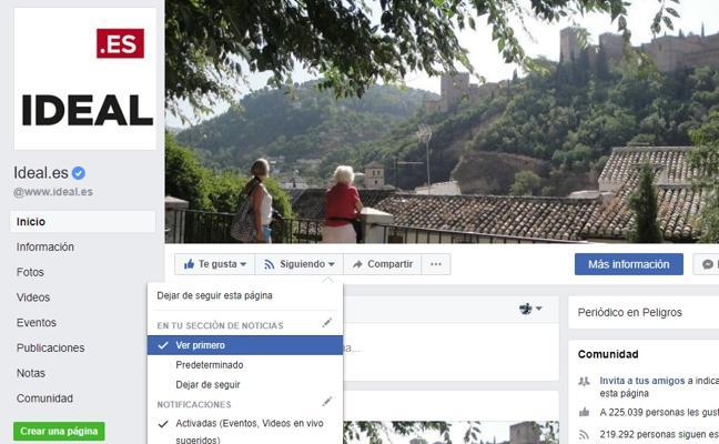 Cambio importante en Facebook: ¿Cómo seguir viendo las noticias de los medios?