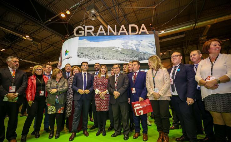 Las imágenes de la primera jornada de Granada en Fitur