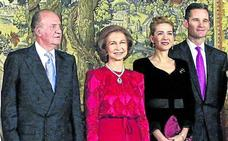 Don Juan Carlos viaja a Ginebra para celebrar el 50 cumpleaños de Urdangarin