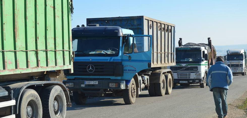 La asociación de transportistas de Almería rechaza un impuesto de Francia a los camiones que atraviesan el país