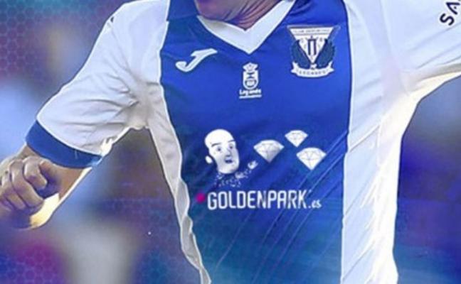 La genial camiseta de Chiquito del Leganés para enfrentarse al Madrid