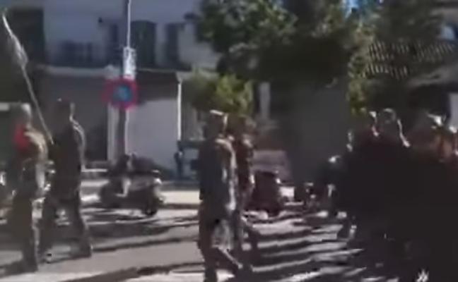 Denuncian en la Fiscalía cánticos de la Legión: «El tanque va a la guerra, y la mujer la guerra es»