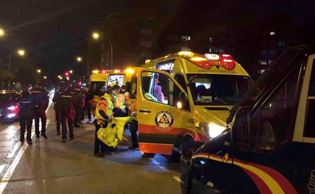 El seguidor del Atlético apuñalado dijo en el hospital quién era el agresor